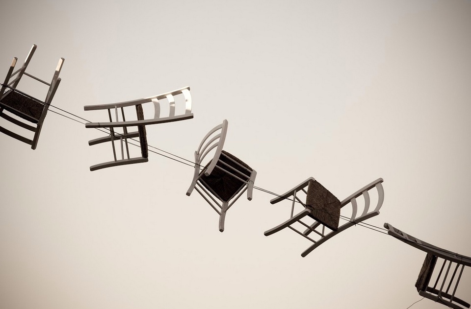 Chairs Photo by Federica Campanaro